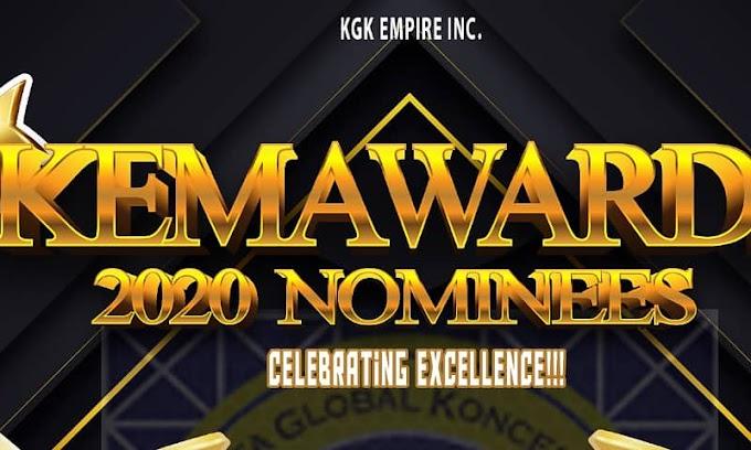 [Full List] Smilezee, McDow, Bigtimz Zamani, Joe Waxy, Da Kris, Zedicy, & Ms Tha Rap Icon Nominated For KEMA Award 2020
