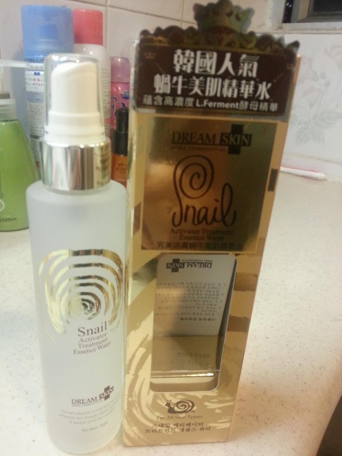 Nicole Lau K. W. Blog: - 蝸牛之淡化暗瘡印篇(上) Snail White, Dream Skin, Eclado