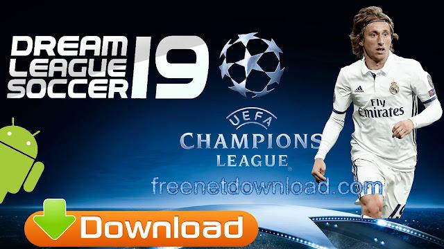 تحميل لعبة Dream League Soccer 2019 UCL DLS19 Android