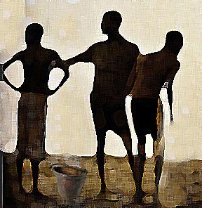 Three Brothers and the Pot of Porridge is a popular African folktale.