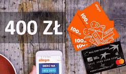 400 zł na Allegro za kartę mamBONUS