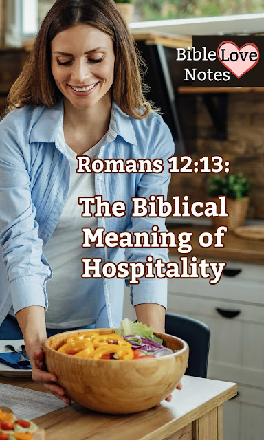 Do you know the meaning of Biblical hospitality? It has a special meaning and it's emphasized throughout Scripture.