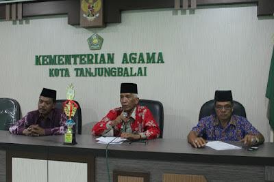 Kemenag Tanjungbalai Gelar Rapat Pembubaran Panitia MTQN Ke 49