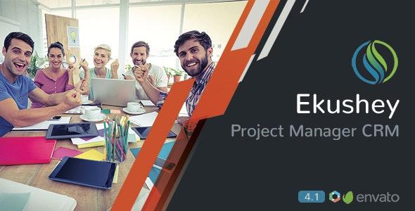 Ekushey v4.3 - Project Manager CRM - nulled Download