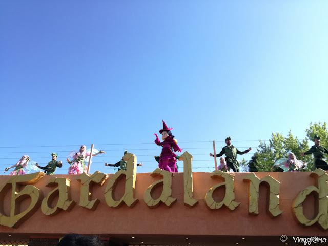 Spettacolo di apertura del parco
