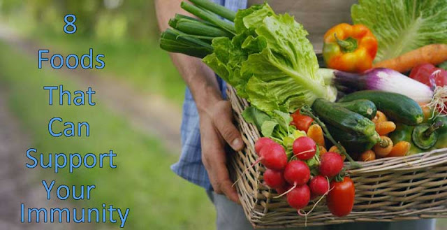 8 Foods That Can Support Your Immunity