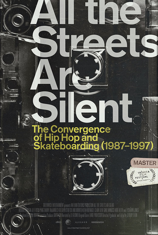 all the streets are silent movie poster