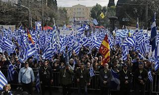 Δείτε Live: Συλλαλητήριο στο Σύνταγμα - Γεμίζει διαδηλωτές για την Μακεδονία η πλατεία