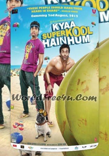Poster Of Bollywood Movie Kya Super Kool Hain Hum (2012) 300MB Compressed Small Size Pc Movie Free Download worldfree4u.com