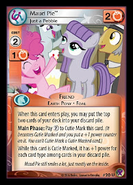My Little Pony Maud Pie, Just a Pebble Marks in Time CCG Card
