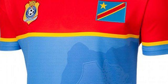 コンゴ民主共和国代表 2017 ユニフォーム-アフリカネイションズカップ-ホーム