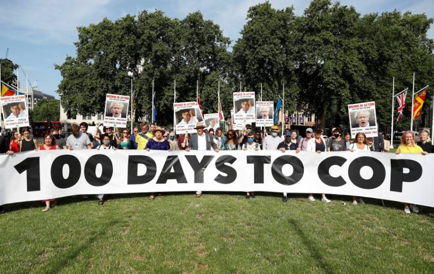 """London gathers representatives of 51 countries today in preparation for the COP26 summit Britain will host climate and environment ministers from 51 countries on Sunday for """"crucial"""" climate talks ahead of the COP26 climate summit scheduled for next November in the Scottish city of Glasgow."""