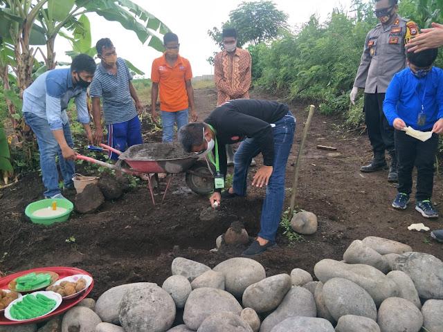 Pembangunan Panti Asuhan Bhayangkara Gowa Dimulai