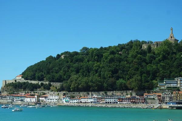 espagne pays basque san sebastian port mont urgull