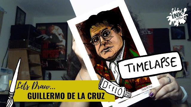 Drawing Guillermo De La Cruz aka Havery Guillen - What We Do in the Shadows
