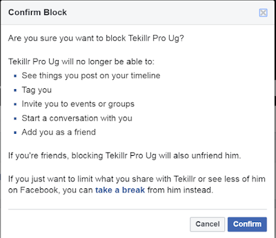 How do I Block Someone on Facebook?