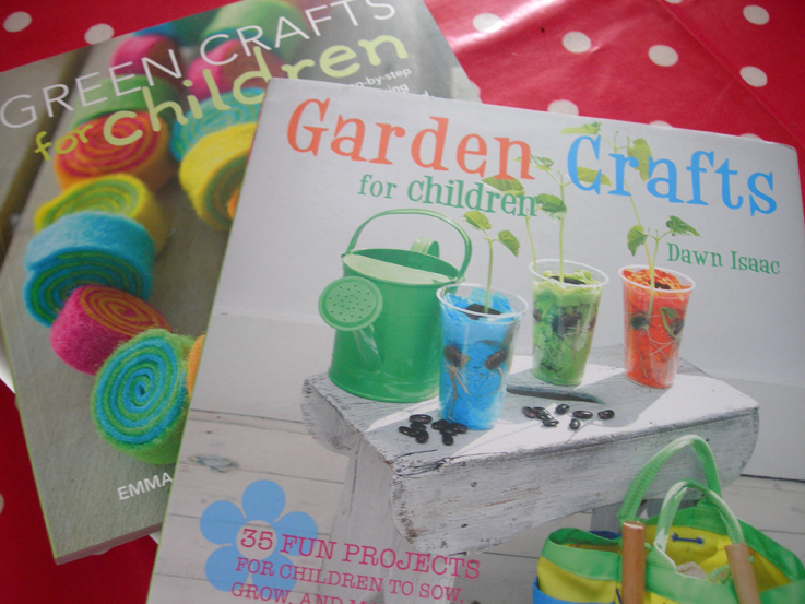 An urban veg patch garden crafts for children for Garden crafts for toddlers