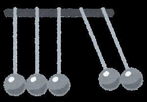 ニュートンのゆりかごのイラスト4