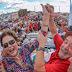 Em 'inauguração' da Transposição, Dilma e Lula reivindicam autoria e criticam postura de Temer