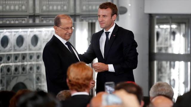 Macron: Francia apoya la 'soberanía' e independencia de El Líbano