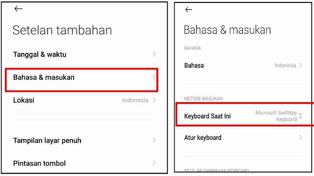 Cara Mengembalikan Keyboard HP Android