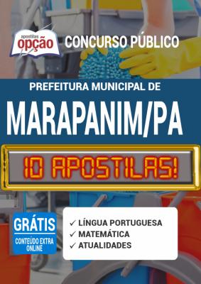 Apostila Concurso Prefeitura de Marapanim PA 2020 PDF Download e Impressa