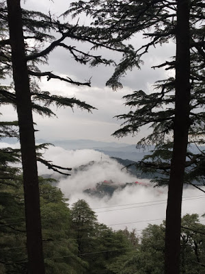Shimla mountain view