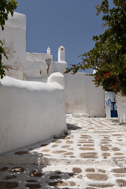 Isla griega de Mikonos