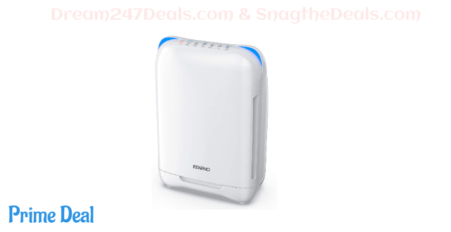 38% OFF  Air Purifier for Home Smokers Allergies and Pets Hair