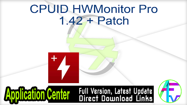 CPUID HWMonitor Pro 1.42 + Patch