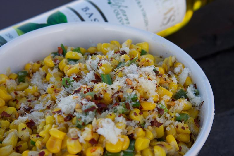 37 Cooks: Roasted Corn with Manchego