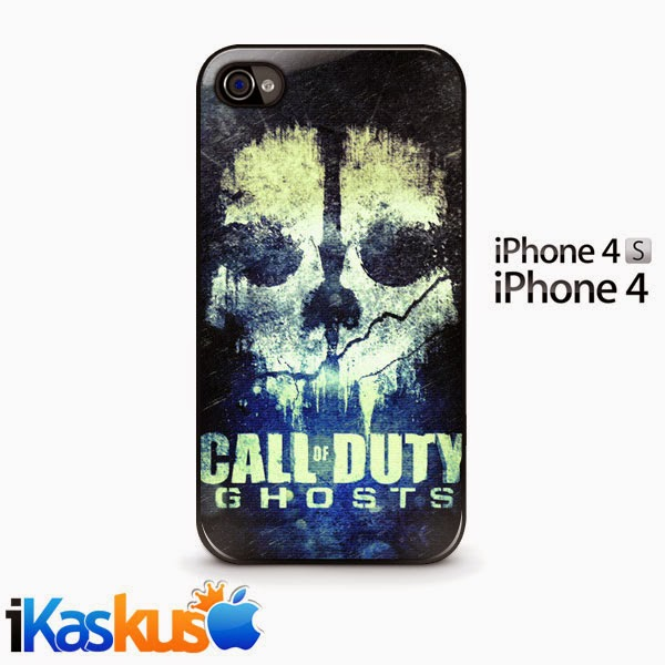 Iphone 4 Case Call Of Duty Ghost SnapOn Murah