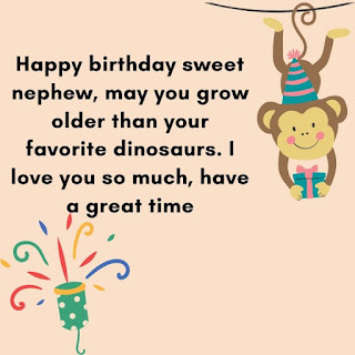 funny birthday wishes for nephew