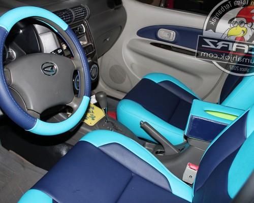 Modifikasi jok mobil ayla avanza agya kijang super yaris