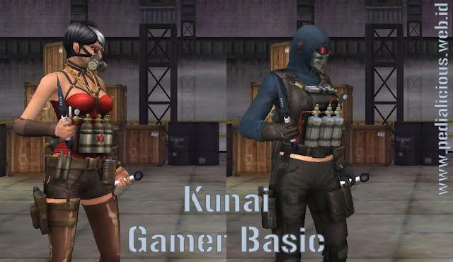 Preview Senjata Kunai Gamer Basic Point Blank Zepetto Indonesia