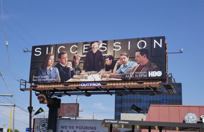 Succession season 2 billboard