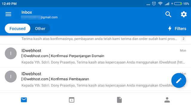 """Microsoft meluncurkan salah satu aplikasi populernya secara cross Cara Mengatur Fitur """"Focused"""" di Outlook di Android/iPhone"""
