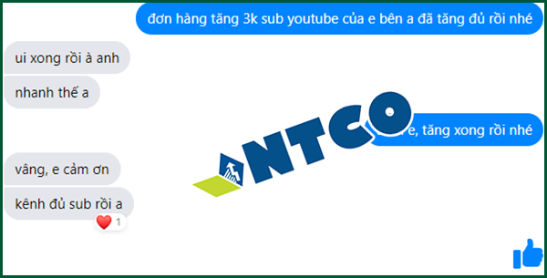 dich vu tang subscribe youtube