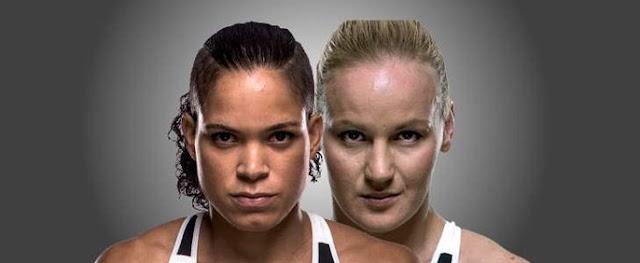 Horário da Luta Amanda Nunes x Valentina Shevchenko  UFC215  sábado - 09/09/2017