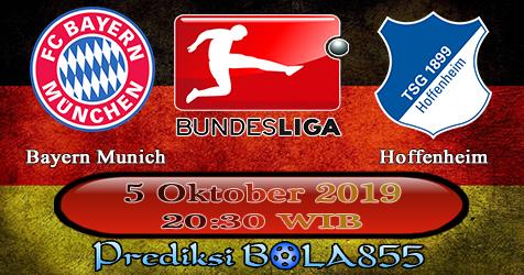 Prediksi Bola855 Bayern Munich vs Hoffenheim 5 Oktober 2019