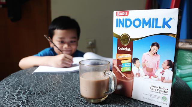 Anak menjadi tinggi, tangguh, tanggap dengan Indomilk Susu Bubuk Optinutri