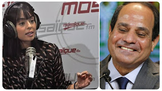 """(بالفيديو) عائشة عطية:"""" تونسيين في حاجة إلى راجل عظيم و قوي مثل القائد عبد الفتاح السيسي"""".."""