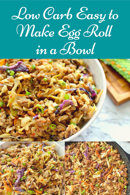 Low Carb Easy to Make Egg Roll in a Bowl