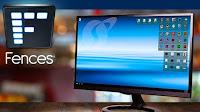 Organizzare il desktop con icone e cartelle importanti dentro riquadri