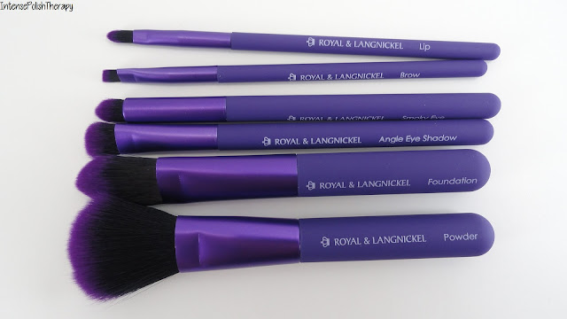 MODA | Royal & Langnickel Total Face 7pc Purple Brush Set