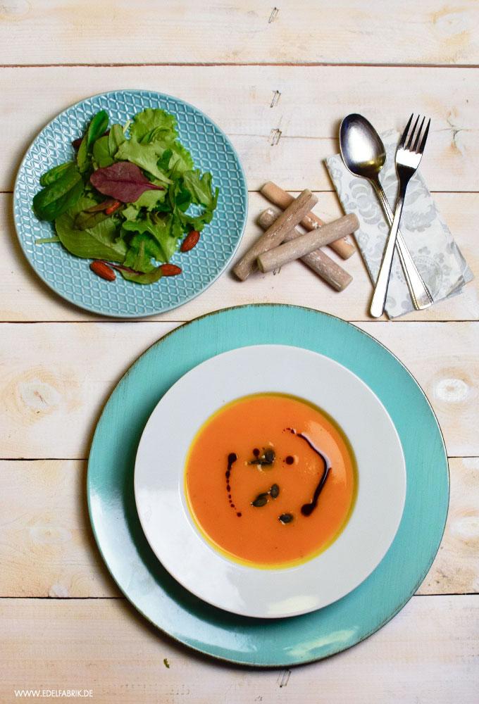 Rezept für Kürbissupee, einfache Kürbissuppe