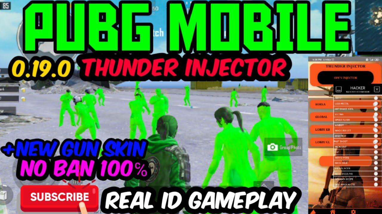 PUBG Mobile Anten Aimbot Wallhack Hileli APK - Thunder Injector