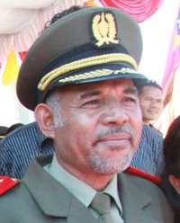 East Timor Defence Force Commander Lere Anan Timur