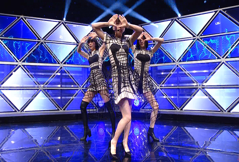 """Perfume perform """"Polygon Wave"""" on Music Station and Nocchi is still livin' for it   Random J Pop"""