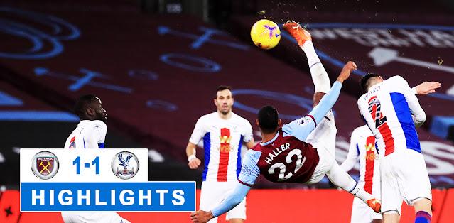 West Ham United vs Crystal Palace – Highlights